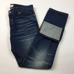 Lucky Brand Legend Selvedge Hem Jeans 6 / 28 Q3-15